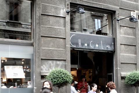 Chocolat in Milan