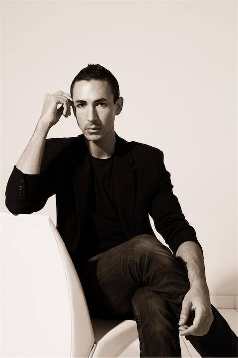 Portrait of fashion designer Christian Cota