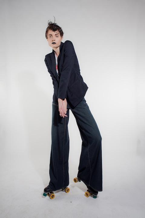 Michiko Koshino black trousers