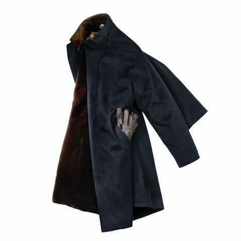 Loro Piana Icer Coat with Nutria fur