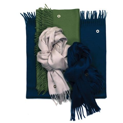 Loro Piana pure cashmere scarves